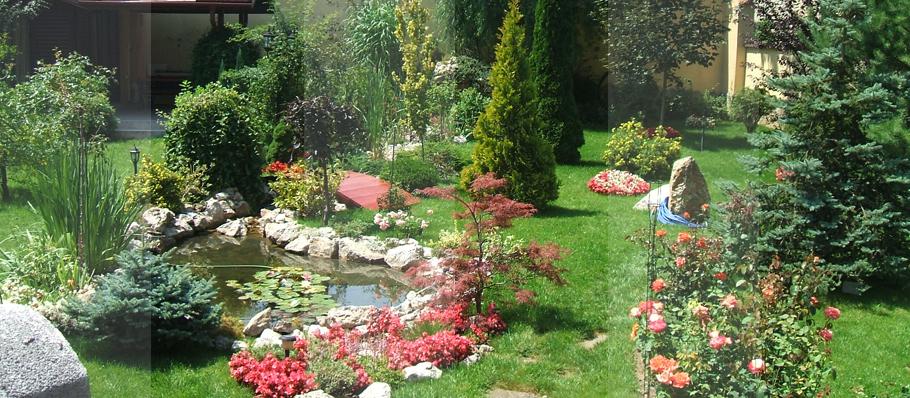 Proiectare gradini - Aranjamente de arbori, arbusti si flori Brasov